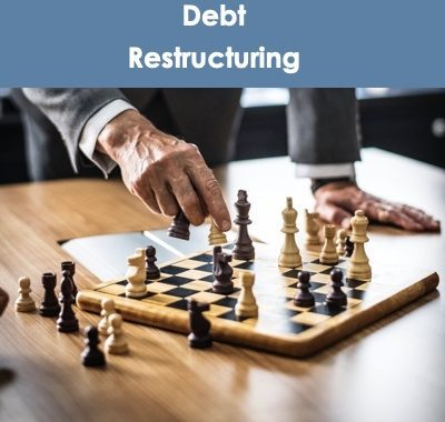Debt Restructuring Involves Strategy