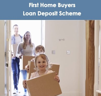 Family Used First Home Buyers Loan Deposit Scheme