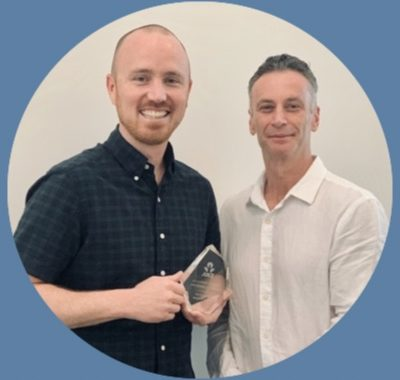 Greg Pierlot And Eamonn Keogh ANZ Commercial Brokers Of The Year 2019 Business Banking