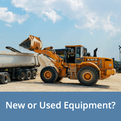 New or Used Equipment - Factors to Consider